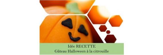 Idée Recette MAËLLYA - Gâteau Halloween à la citrouille