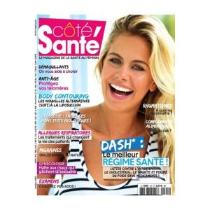 CÔTÉ SANTÉ Magazine - Abonnement 10 numéros