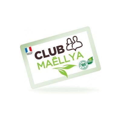 Carte Adhérent CLUB MAËLLYA
