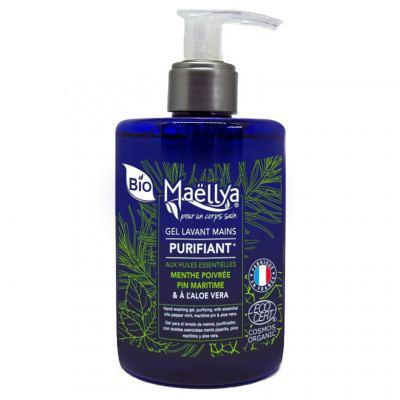 Des huiles essentielles et de l'Aloe Vera pour des mains hydratées et purifiées !