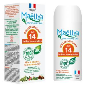 Roll on Massages 75 ml Certifié Cosmétique Ecocert