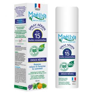 "Spray aérien ""Doux Rêves"" 100 ml Contrôlé Spray d'ambiance Ecocert"