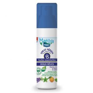 "Spray aérien ""Doux Rêves"" Pocket 50 ml Contrôlé Spray d'ambiance Ecocert"