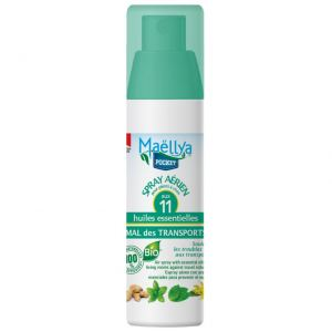 "Spray aérien ""Mal des transports"" Pocket 50 ml Contrôlé Spray d'ambiance Ecocert"