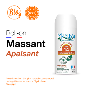 "Roll-on de Massage ""apaisant"" - 75 ml"