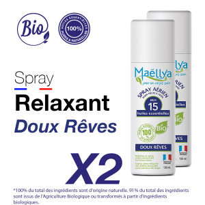 "LOT : 2 Spray ""Doux Rêves"" - 100 ml"