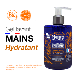 Gel lavant mains Hydratant - 300 ml