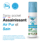 Spray POCKET aux huiles essentielles Air Pur et Sain 50 ml bio