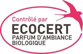 Logo Ecocert parfum d'ambiance